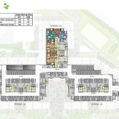 prestige-park-square-tower-2-key-plan